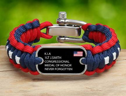 A Survival Straps Memorial Bracelet Is The Perfect Way To Commemorate And Remember Loved One