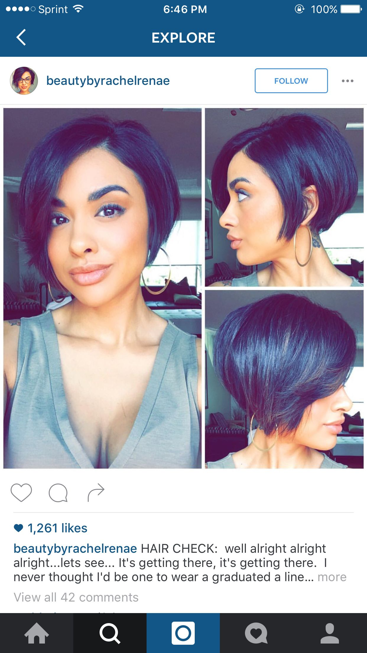 Pin by sharmarie c on hair pinterest hair style short hair and