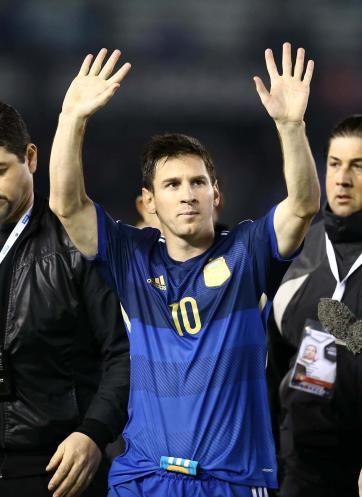 Argentina con messi