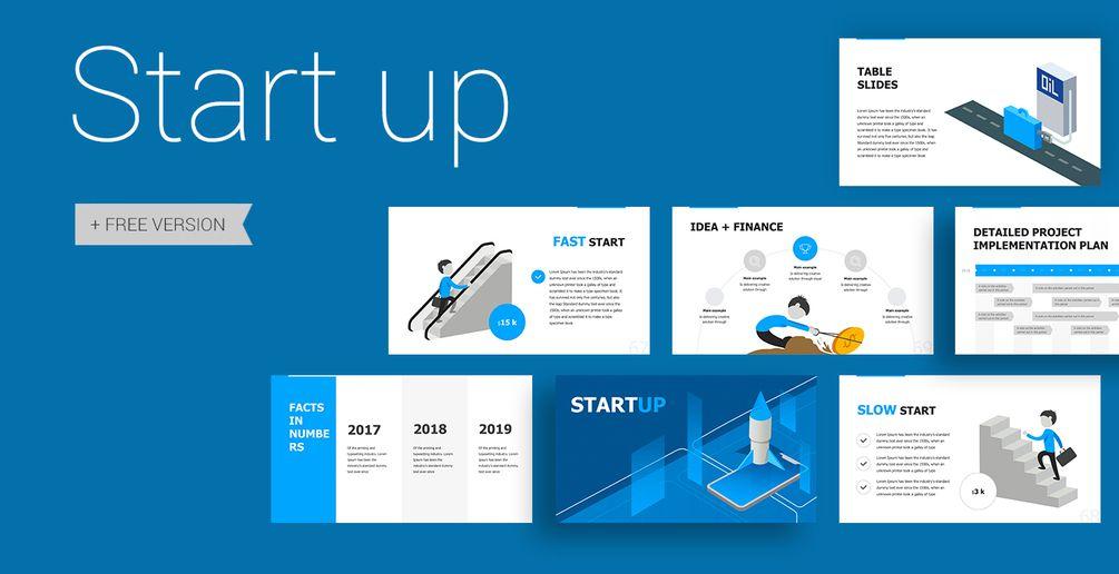 Start Up Presentation FREE Free powerpoint
