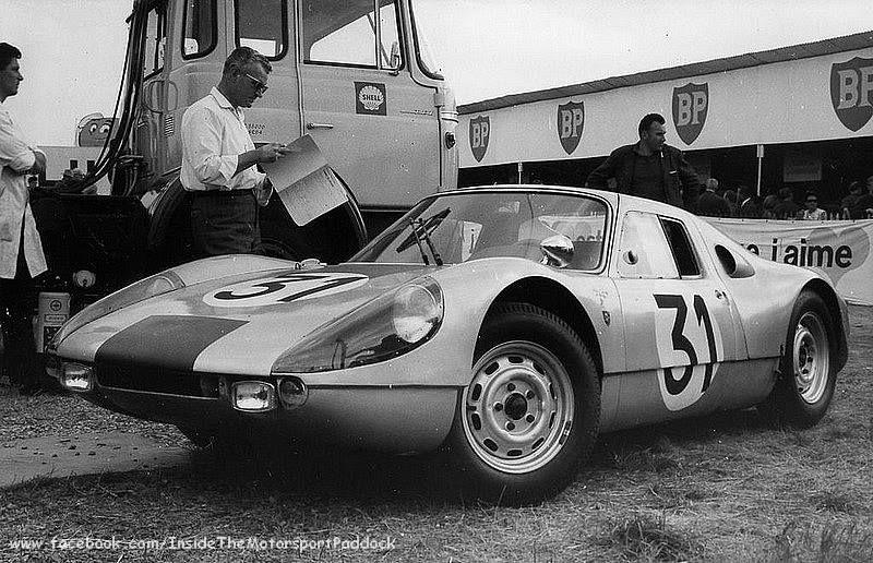 1964 le mans 24h porsche 904 gts nr31 koch schiller 10th archive aco inside the - Garage volkswagen le mans ...
