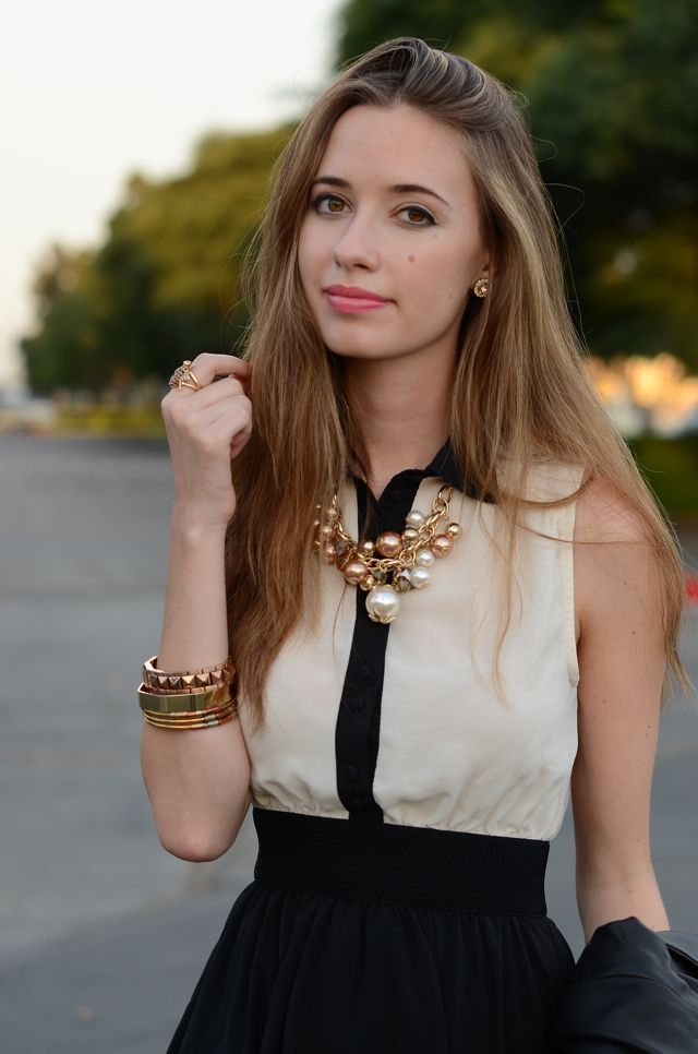 mlovesm tuxedo (necklace downtown LA, bracelets c/o Karen London)