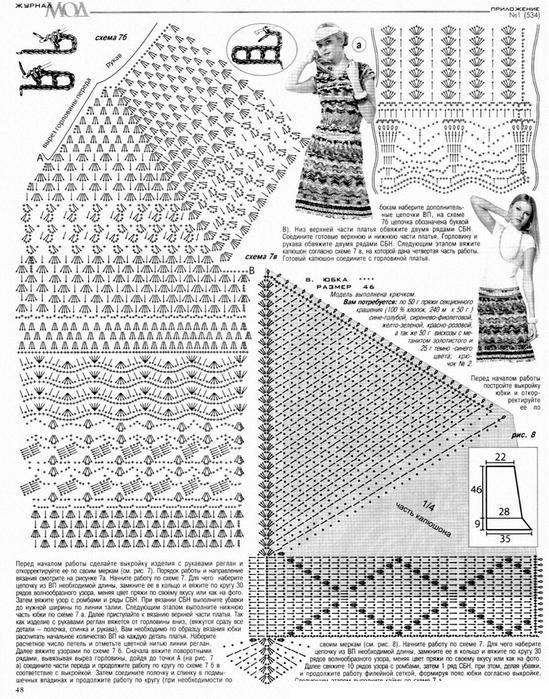 Patrones para Crochet: Falda Ondas de Crochet Patron | ¡EPALE ...