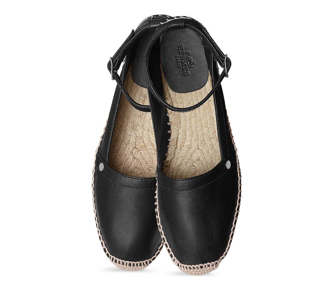 Chaussures Hermès Malaga - Espadrilles - Femme   Hermès, Site Officiel 600ee2ef331