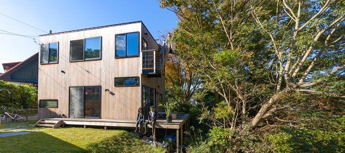 葉山の自然を愉しむ屋根より高い樹々とともに暮らす家 家 葉山 別荘