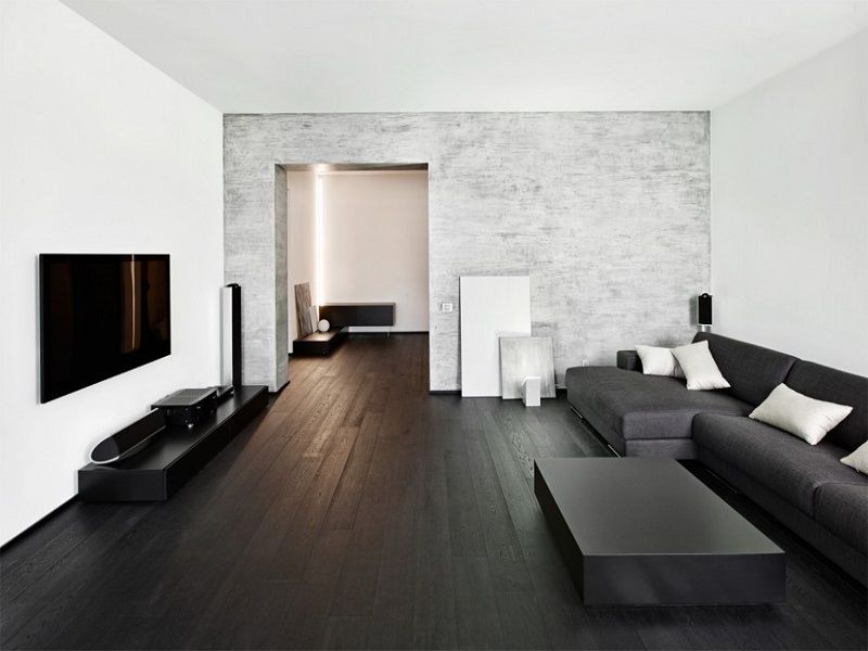 25 Living Rooms With Hardwood Floors Page 4 Of 5 Living Room Wood Floor Dark Wooden Floor Living Room Dark Wood Floors Living Room