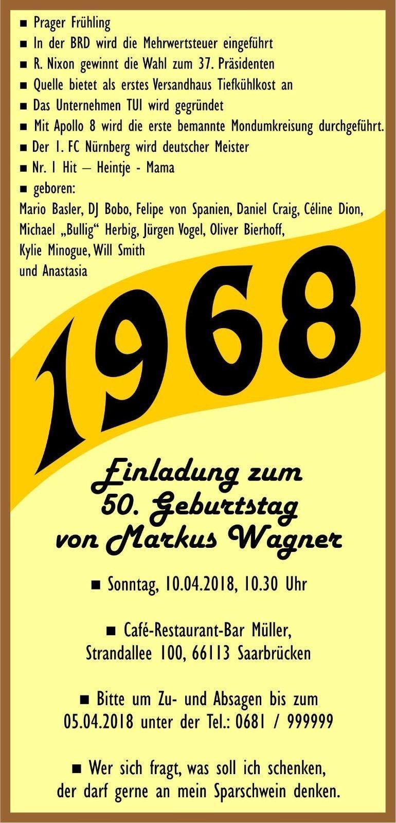 Einladungskarten Zum 50 Geburtstag Einladungskarten Zum: Einladung 50. Geburtstag