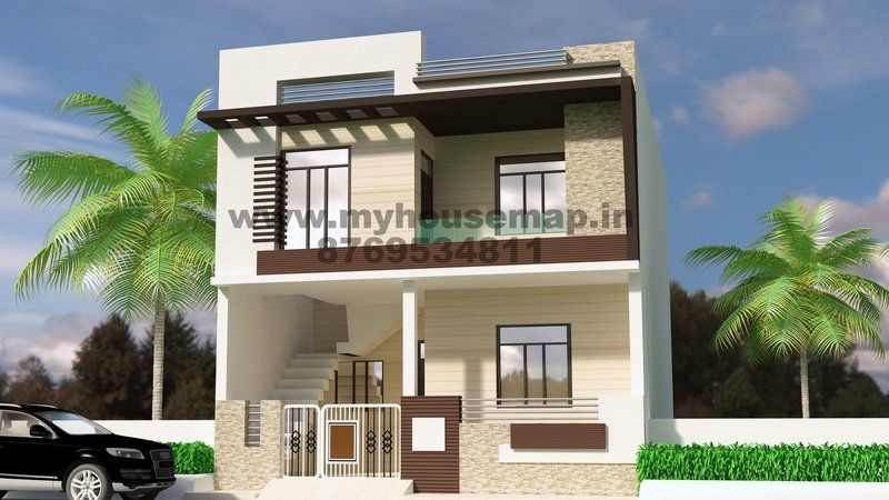 Gallary House Map Elevation Exterior House Design 3d House Map In India
