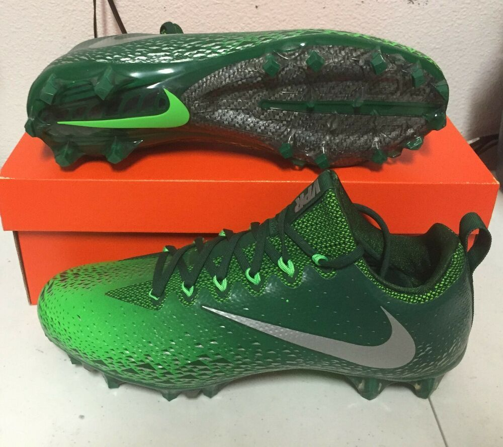 985cfbd703c NIKE VAPOR UNTOUCHABLE PRO FOOTBALL Cleats MENS Gorge Green 833385 303  120  NEW  Nike  FootballCleats