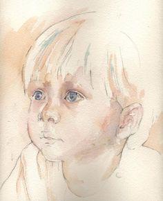july 2006 step by step portrait class tutorial wetcanvas