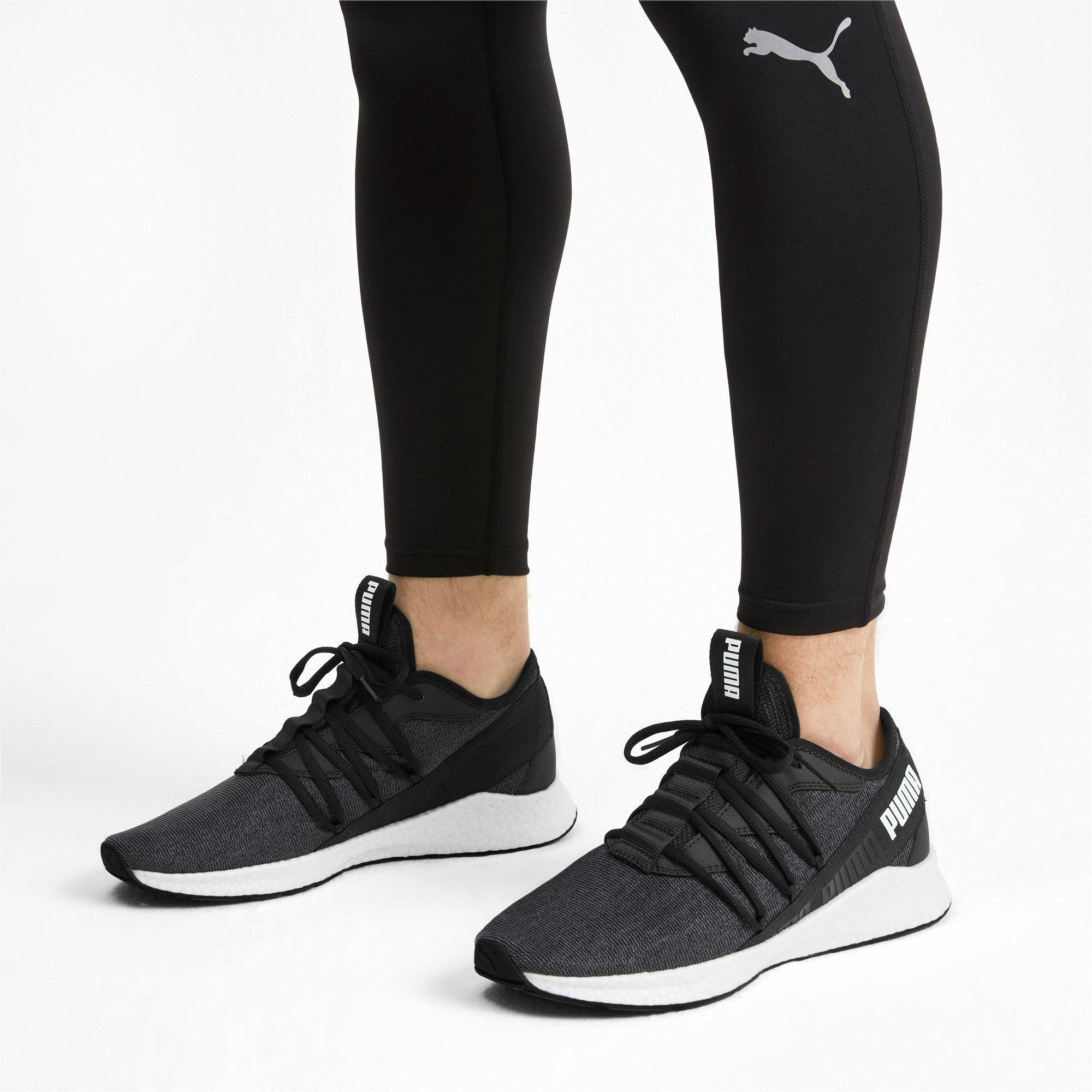 NRGY Star Knit Running Shoes | Black puma, Running shoes, Black