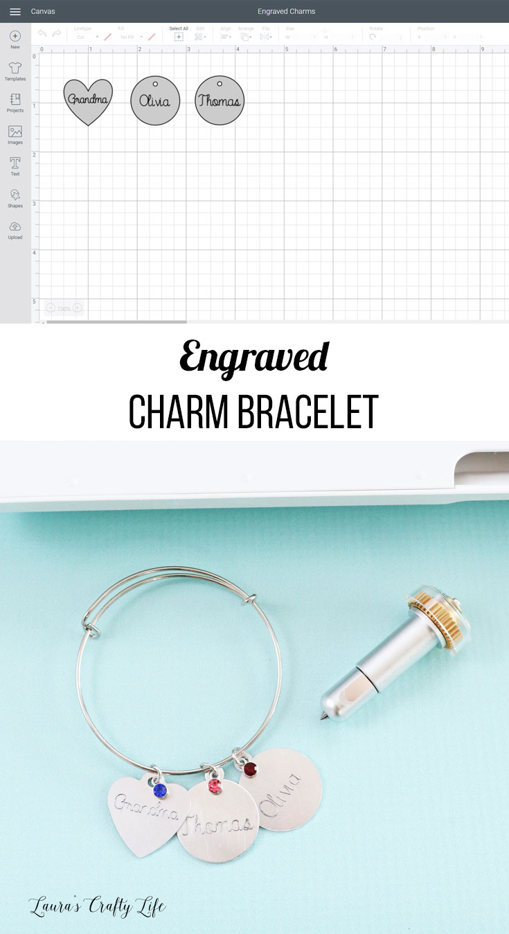Engraved Charm Bracelet How To Use