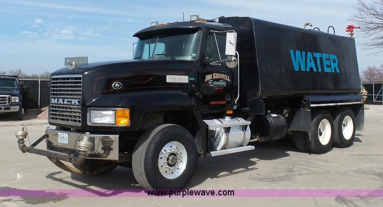 Image result for mack water truck