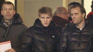 Real Madrid hires Martin Ødegaard