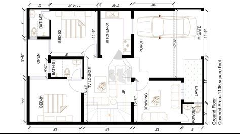 Pin By Furquan Quazi On First House Layout Plans House Plans
