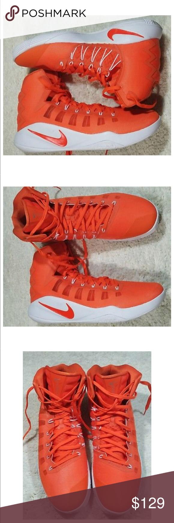 100% authentic 1e219 6f69b NEW NIKE HYPERDUNK TB PROMO BASKETBALL SHOES NEW NIKE ZOOM HYPERDUNK 2016  TB PROMO BASKETBALL SHOES ORANGE WHITE 856483-883 SZ 17. NO BOX Nike Shoes  ...