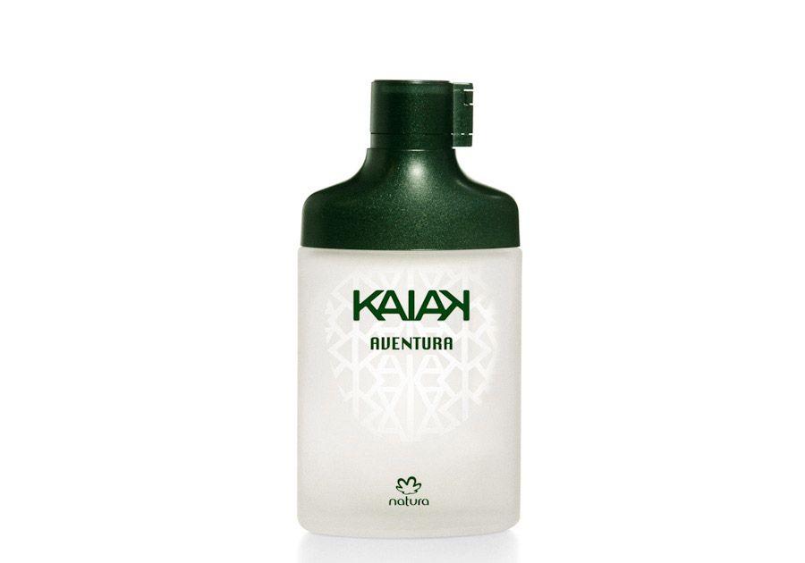Compre na Rede Natura o desodorante colônia Kaiak Aventura masculino com 30% OFF e economize R$ 33. De R$ 109,90  por R$ 76,90 ou 2 x de R$ 38,45 sem juros no cartão de crédito. Promoção válida de 19 a 21/set ou enquanto durarem os estoques. Por tempo limitado. Aproveite!