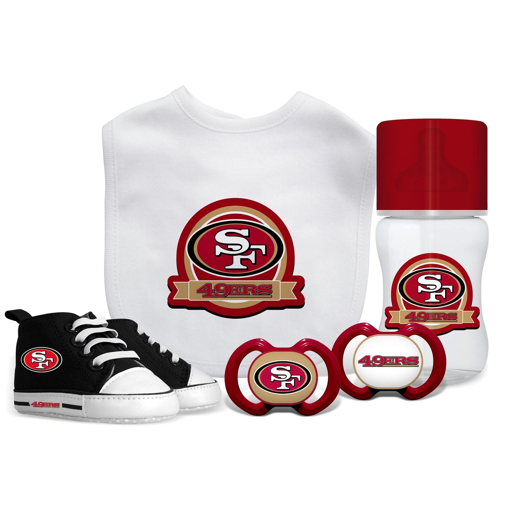 Baby Fanatic San Francisco 49ers NFL 5 Pc Infant Gift Set 1