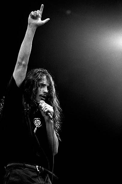 Ripchriscornell From Soundgarden Performs Live On Stage At Pinkpop
