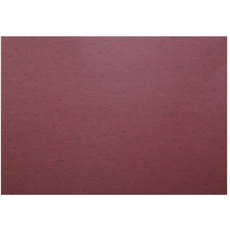 Adhésif décoratif pour meuble effet Cuir – 200 x 45 cm – Rouge – 800615