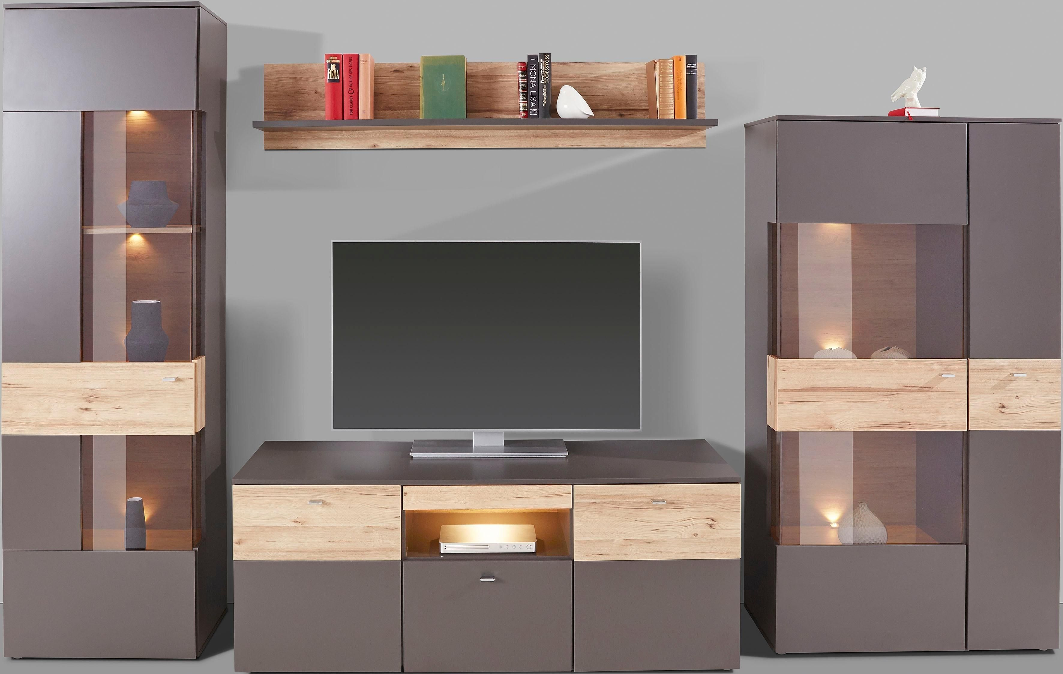 Forte Wohnwand Auf Rechnung Kaufen With Images Home Tv Wall Unit Bedroom Decor