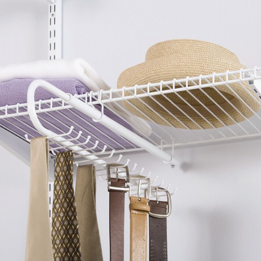 Rubbermaid Wire Sliding Tie And Belt Rack