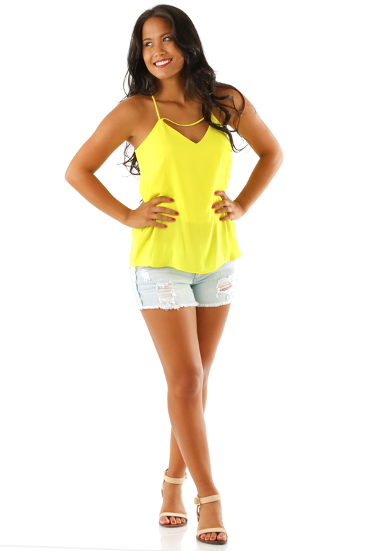 Something I Need Tank Top: Yellow- Use code THOLLISREP at checkout to save 10% EVERY time you shop at www.shophopes.com! Free shipping in US and Canada. International shipping is available. SHARE THIS CODE WITH YOUR FRIENDS, AND HAPPY SHOPPING:)