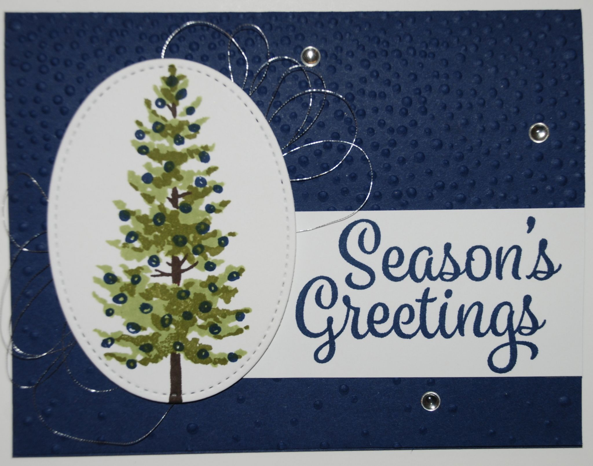 Stampin' Up! Season's Greetings Card Season Like