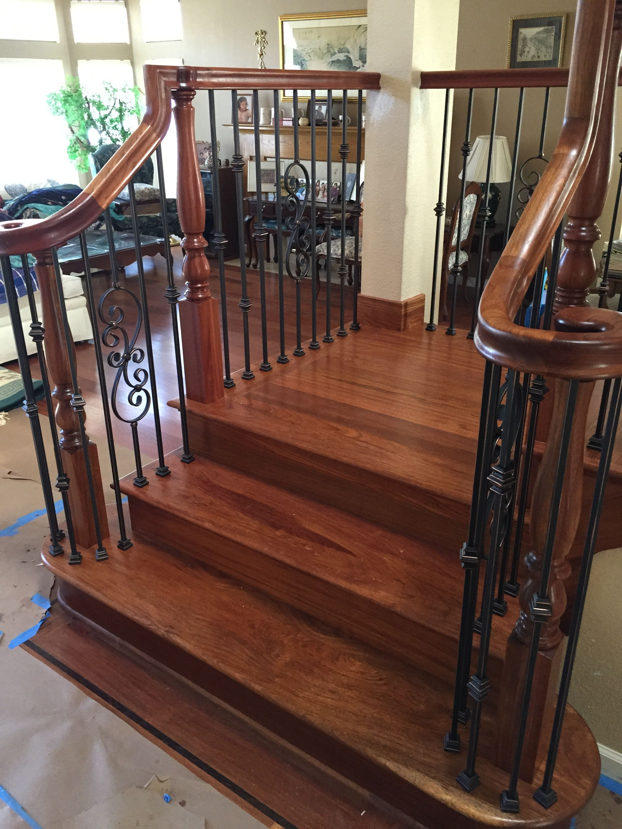 Brazilian Cherry Wood Stairs Design Brazilian Cherry Wood Wood