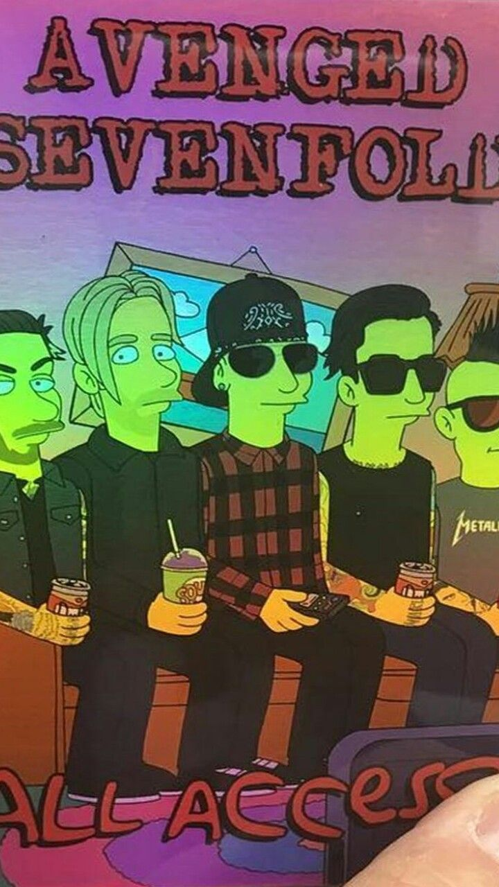 A7x The Simpson Avenged Sevenfold In 2018 Pinterest Avenged
