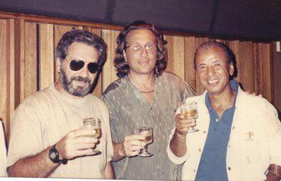 1987- Empresariamento de CÉSAR CAMARGO MARIANO. Produção Executiva LP Elis (Cesar Camargo Mariano e Sadao Watanabe -foto)