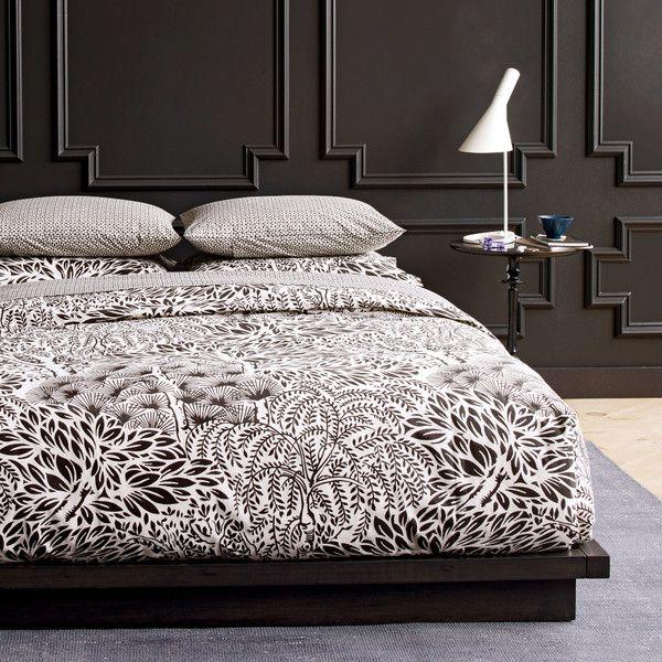 Dwellstudio modern furniture storesblack wallsdark brown wallscontemporary interior designmaster
