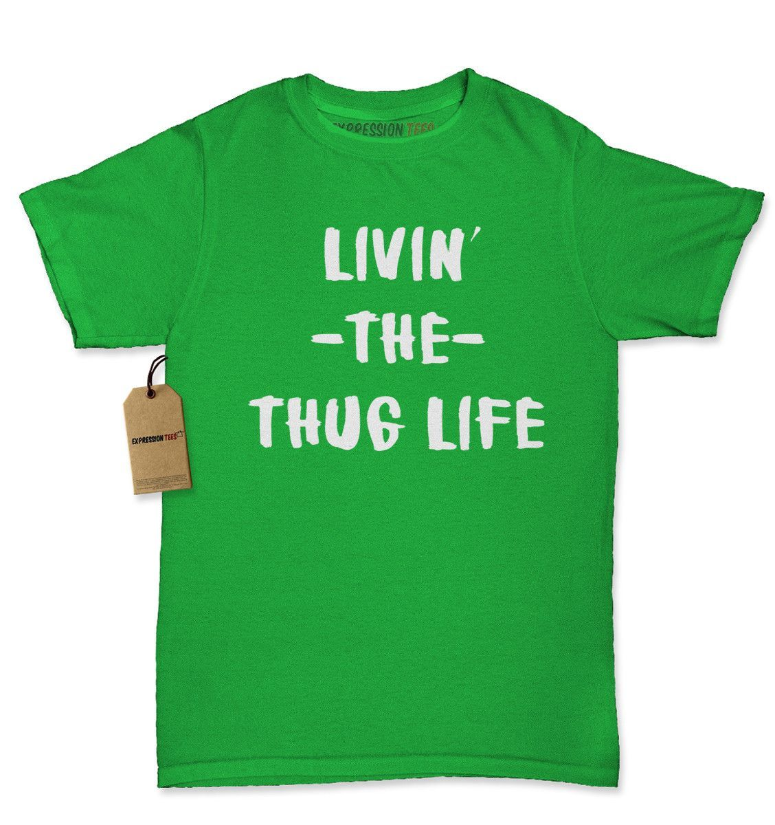 Living The Thug Life Womens T-shirt