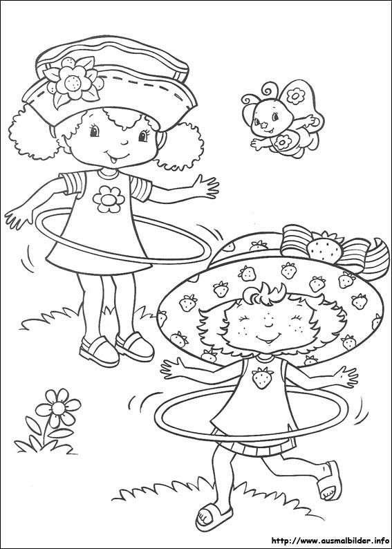 Emily Erdbeer:: | Coloring-Strawberry Shortcake | Pinterest