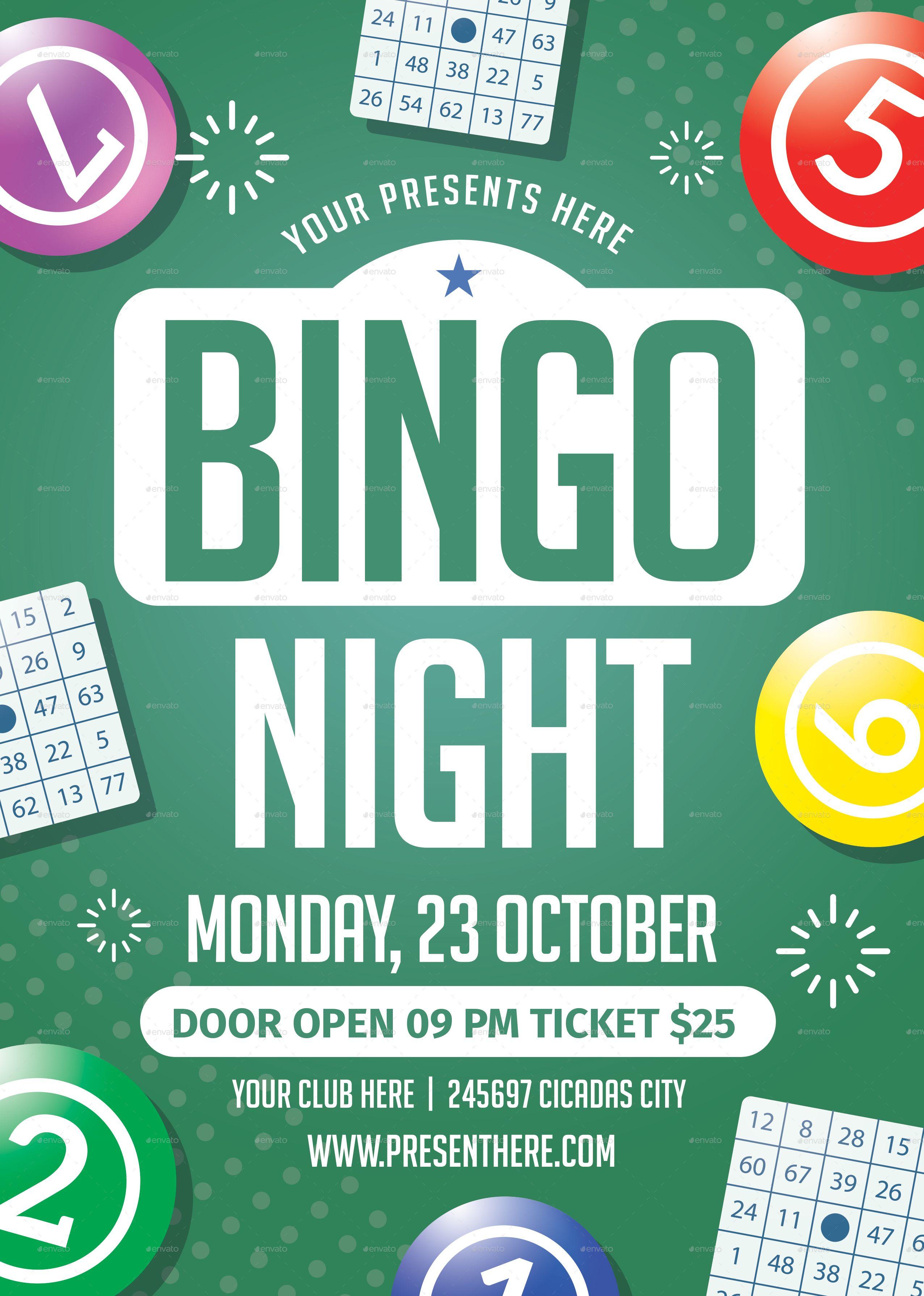 Bingo Flyer Free Template