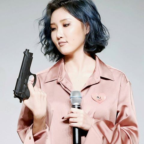 Mamamoo Hyejin Hwasa Guns Mamamoo Hwasa Kpop Feminino