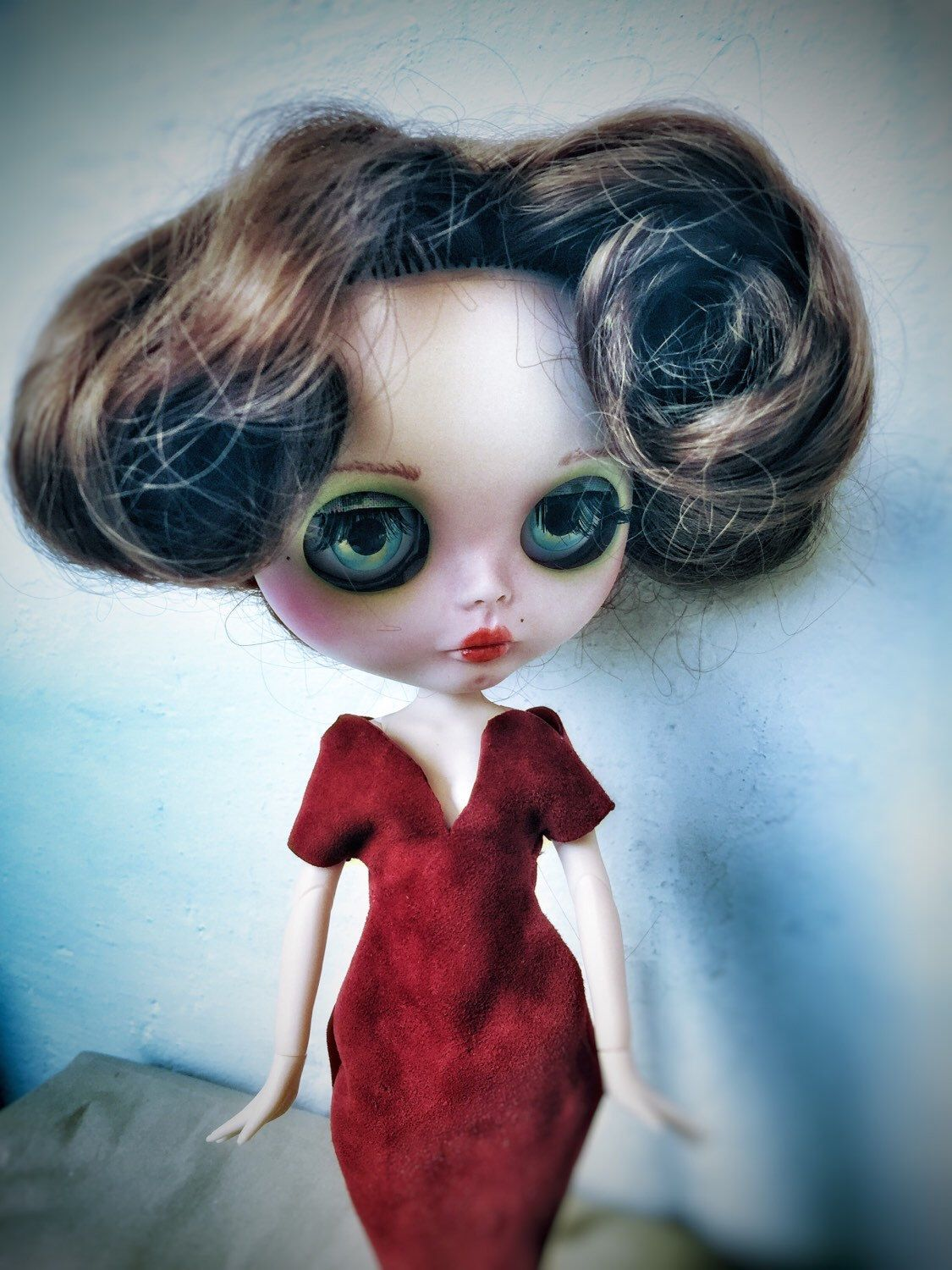 Un preferito personale dal mio negozio Etsy https://www.etsy.com/it/listing/230827032/blythe-doll-ooak-fashion-doll-bambola