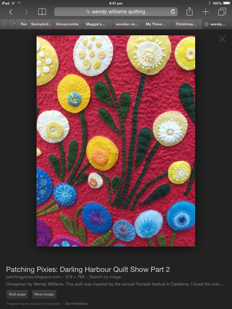 Felt flowers | Felt appliqué | Pinterest