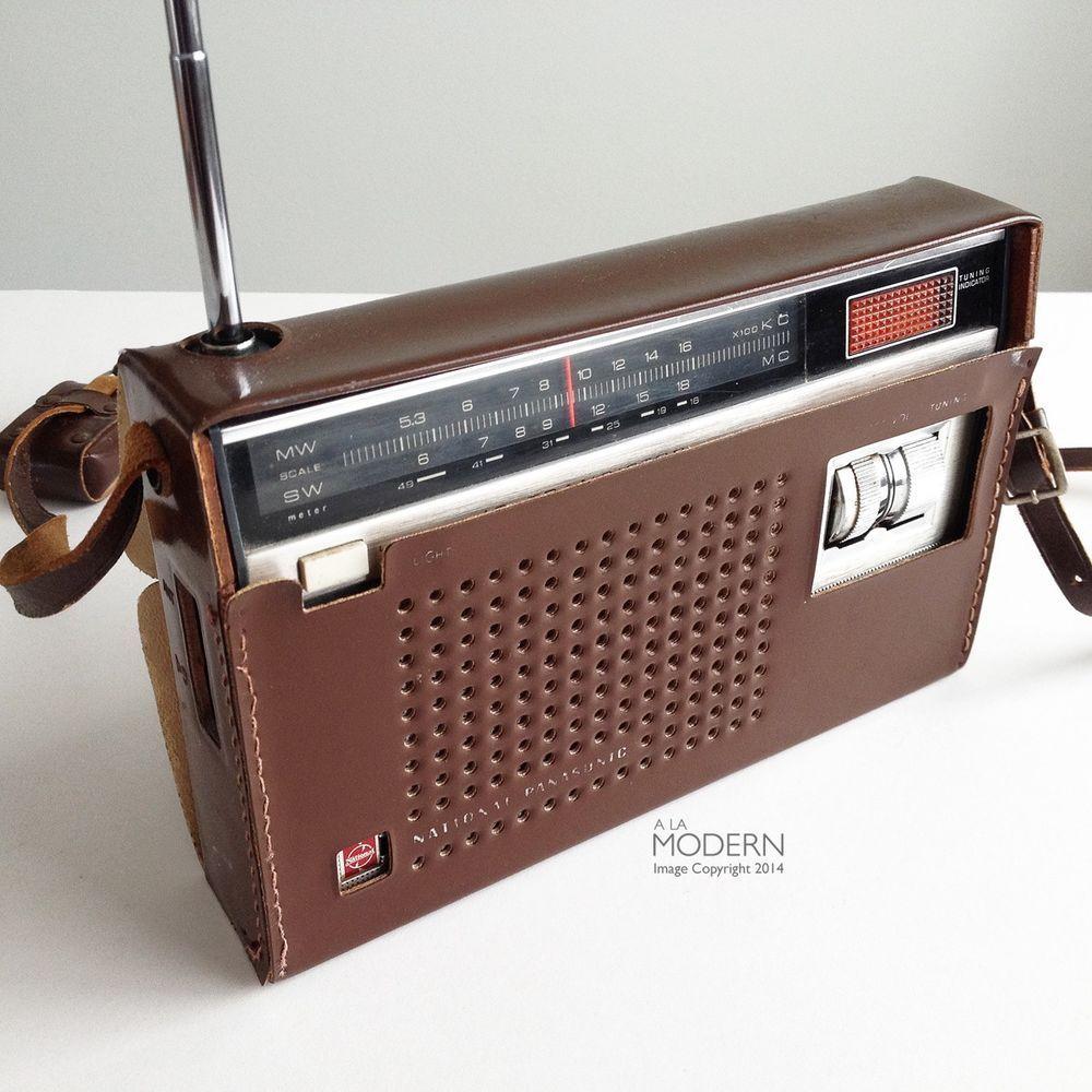 Rare National Panasonic R 237j 1960s Am Short Wave Vintage Radio Sold Transistor Radio Vintage Vintage Radio Antique Radio