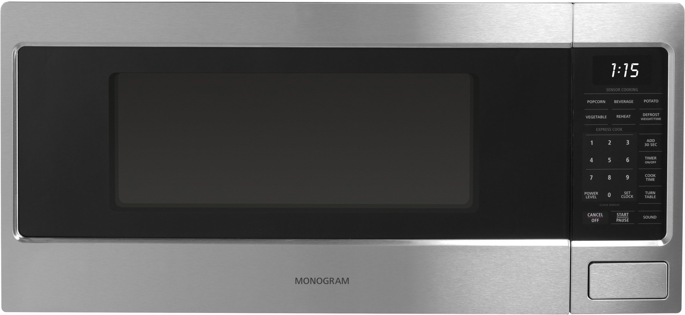 Monogram Zem115sjss With Images Countertop Microwave Oven