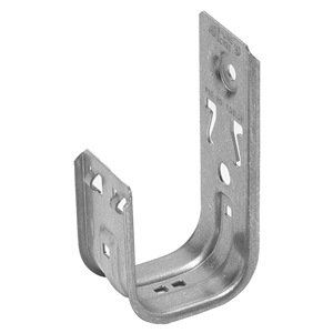Cooper B Line Bch32 By Cooper B Line 7 53 J Hook Cable Support Mounting Type Wall Color Silver Mounting Hole 17 64 In Ma Home Hardware Wall Hanger Hook