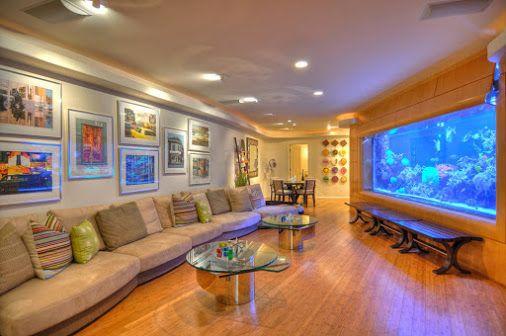 Aquariums in Living Room For Impressive Decoration... http ...