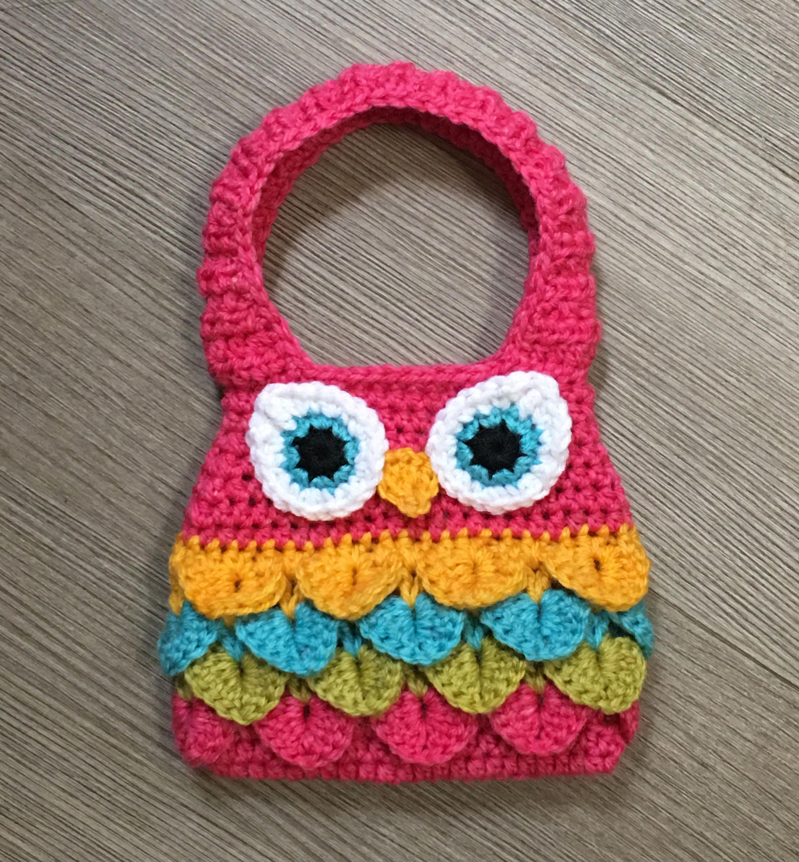Owl Purse Crochet Pattern/ Owl Crochet Pattern/ Crochet Pattern Owl ...