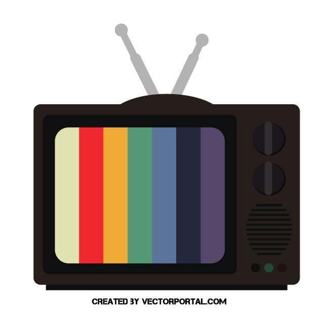 Retro Tv Set Vector Graphics Retro Tv Retro Vector Retro
