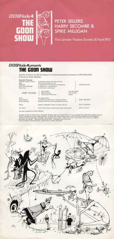 Goon Show Program