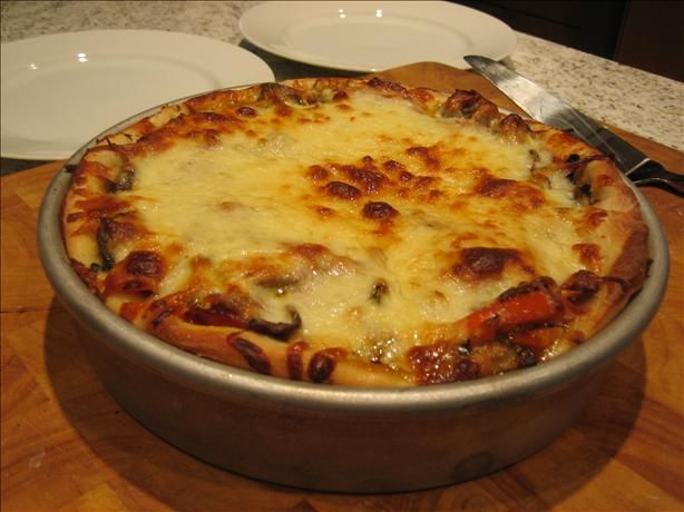 Chicago Deep Dish Pizza - awesome!