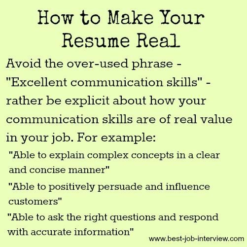 The Right Resume Keywords Job interviews and Sample resume
