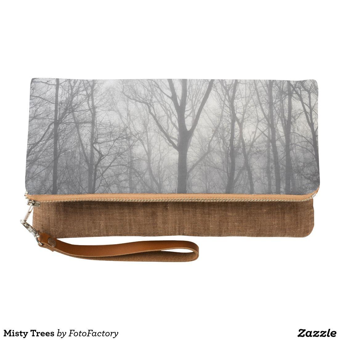 Misty Trees Clutch