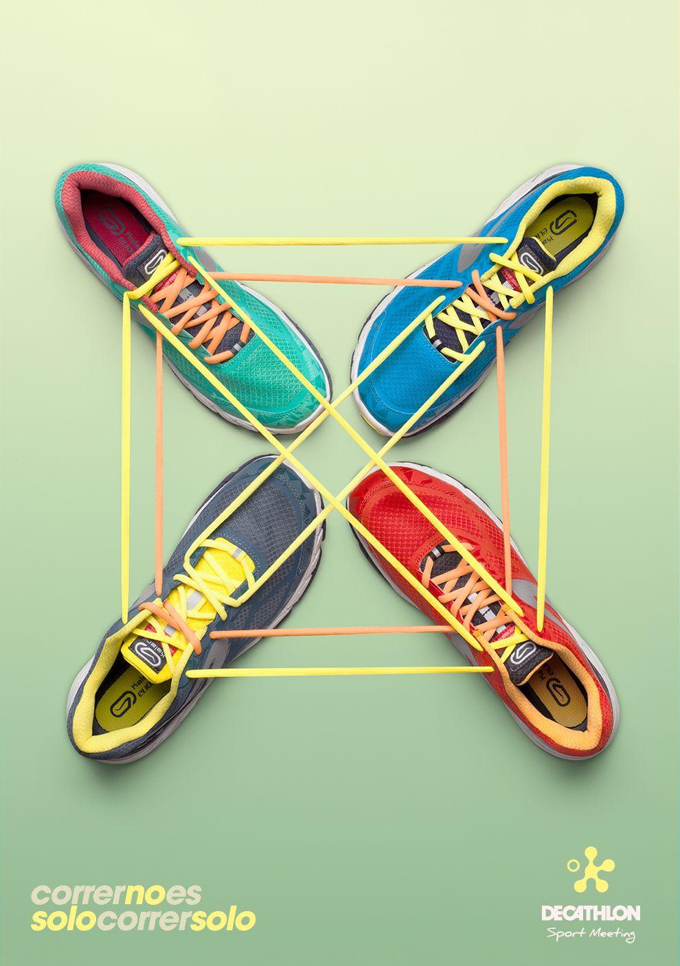 Correr no es sólo correr solo on Behance #artdirection