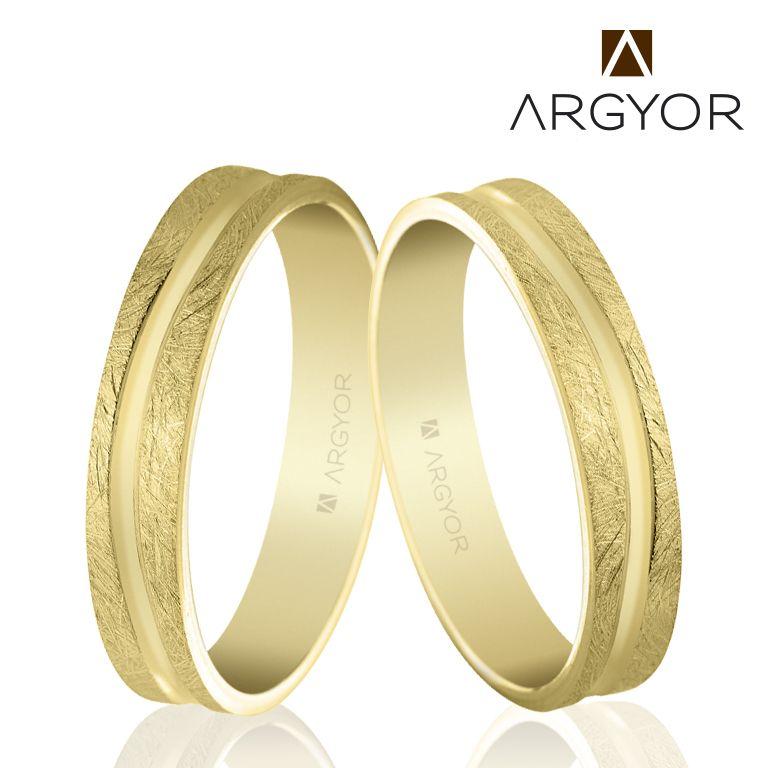 e8707832a3fd Alianza de boda oro 4mm acabado hielo (5140511)
